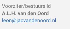 Leon van den Oord