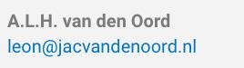 Van Den Oord