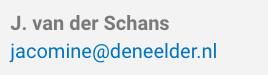 Van Der Schans