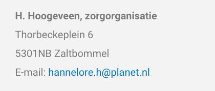 H. Hoogeveen