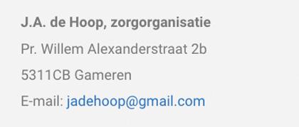 J.A.de Hoop